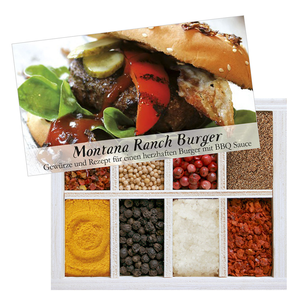 ranch burger gew rzkiste f r burger santapr sente. Black Bedroom Furniture Sets. Home Design Ideas